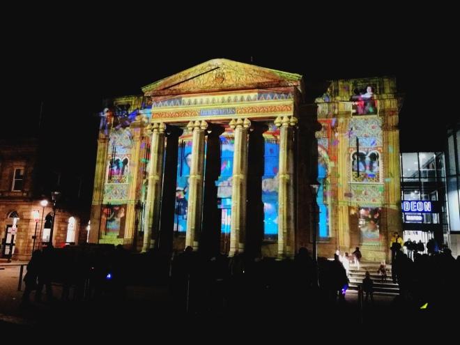 Town hall illuminate festival