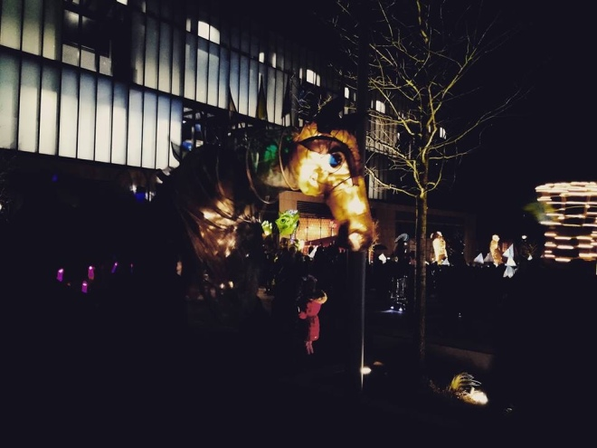 Horse illuminate festival